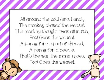 Pop! Goes the Weasel - A Primary Orff Arrangement