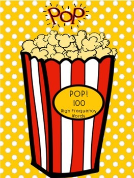 Fountas and Pinnell POP! 100 Word List