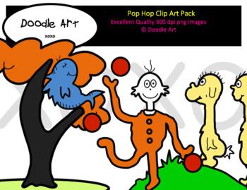 Pop Hop Clip Art Pack