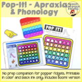 Pop-It! - Apraxia & Phonology: Printable and Boom
