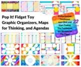 Pop It Fidget Toy Organizers, Maps, & Agendas W/ Formatted
