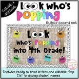 Pop It Themed Back to School Bulletin Board or Door Kit {e
