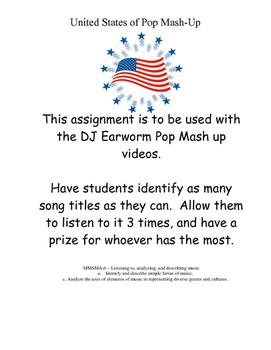 Pop Music Mash Up