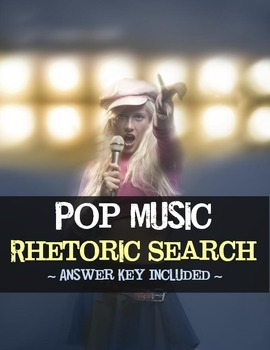 Rhetoric Review -- Pop Music Activity