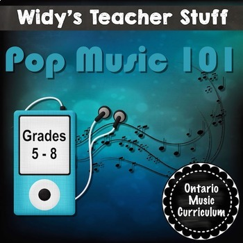 Pop Music Unit Bundle: 12 Lessons on The Musical Elements Found in Pop Music