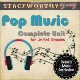 Pop Music Unit: 12 Lessons on The Musical Elements of Pop Music