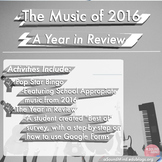 Pop Music in 2016: A Year in Review