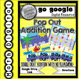 Pop Out! Double Digit Addition No Regrouping Game Digital