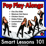 Pop Playalong BUNDLE: Dance Rhythm Sticks Cup Games Boomwhacker Music Games