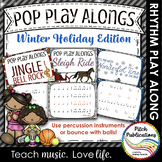 Pop Play Alongs - Holidays (Sleigh Ride, Jingle Bell Rock, It's the most..)