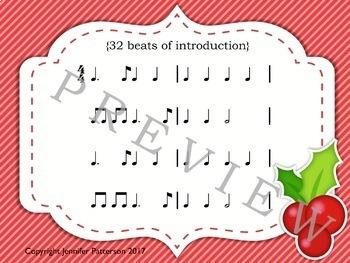 Pop Play-alongs: Christmas GROWING BUNDLE! {melodic and rhythmic practice}