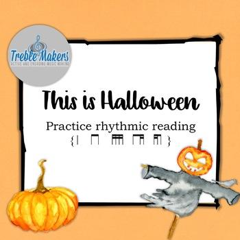 Pop Play-alongs: This is Halloween {ti tika, tika ti}