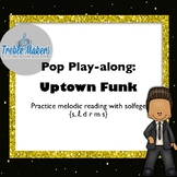Pop Play-alongs: Uptown Funk { featuring s,l, drm s}