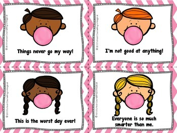 Pop! Pop! Negative Thoughts: A Positive Thinking Card Game