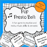 Music Game for Middle School: Pop Presto Ball