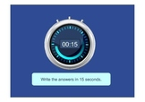 Pop Quiz Against the Clock