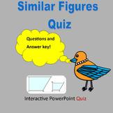 Pop Quiz:  Similar Figures