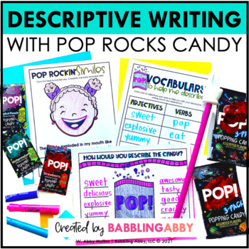 pop rockin descriptive writing activities by babbling abby tpt