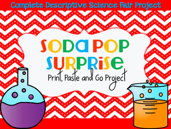 Pop Rocks and Soda Science Fair Print and Paste