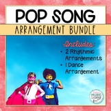 Pop Song Music BUNDLE, Rhythmic Arrangement & Folk Dance f