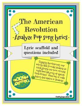 Pop Song Lyrics and the American Revolution