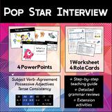 5-Lesson Pop Star Interview Conversation Activity