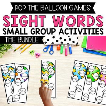 Pop The Balloon! Fry Words 1-400 Bundle