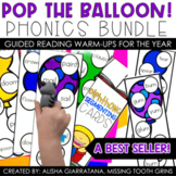 Pop The Balloon! Phonics Segmenting Cards