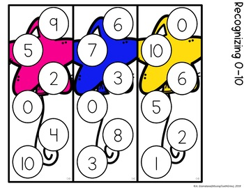 Pop The Balloon! Recognizing Numbers Math Game