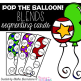 Pop The Balloon! Segmenting Blends Cards