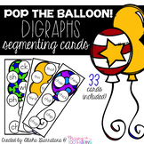 Pop The Balloon! Segmenting Digraph Cards
