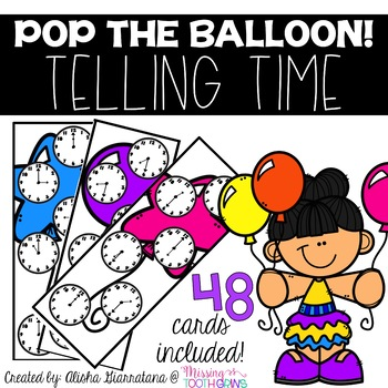 Pop The Balloon! Telling Time