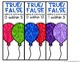 Pop The Balloon! True False Equations Math Game