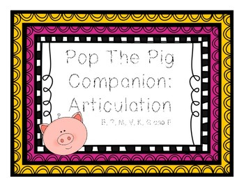Pop The Pig Companion: Earlier Sounds