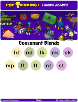 Pop Thinking: Phonics - Ending Blends
