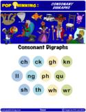 Pop Thinking: Phonics - Consonant Digraphs
