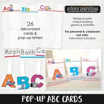 Pop-Up ABC Cards