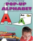 Pop Up Alphabet  Printable Activities (2 Dimensional)