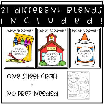 Pop Up Blends: Speech and Language Therapy