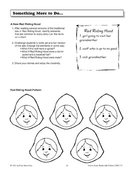 Pop-Up Book - Red Riding Hood