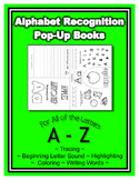Pop Up Books for the Entire Alphabet ~ Preschool, Kinderga