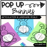 POP UP Bunnies: Spring Articulation and Language Craft