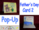 Pop-Up Father's Day Card 2