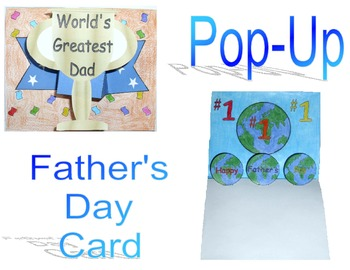 Pop-Up Father's Day Card