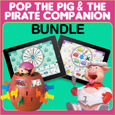 Pop Up Pirate AND Pop The Pig Game Companion Bundle