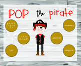 Pop Up Pirate - Articulation and Language Game Companion
