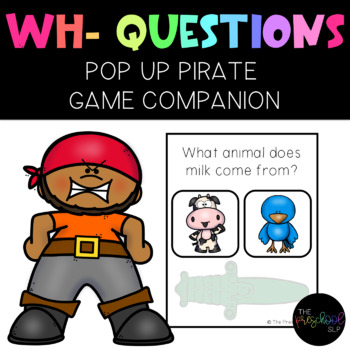 Poppin' Pirate Companion: WH- Questions