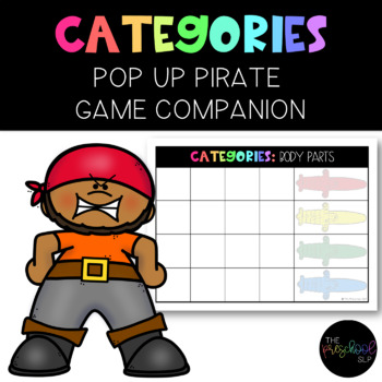 THE PRESCHOOL SLP: Poppin' Pirate Let's Find Things