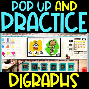Pop Up Practice Digraphs | Digraphs and Movement