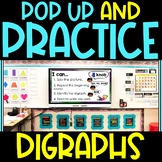 Pop Up Practice Digraphs   Digraphs and Movement